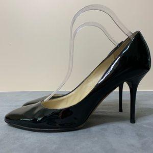 Jimmy Choo Black Patent Leather Heels (40)